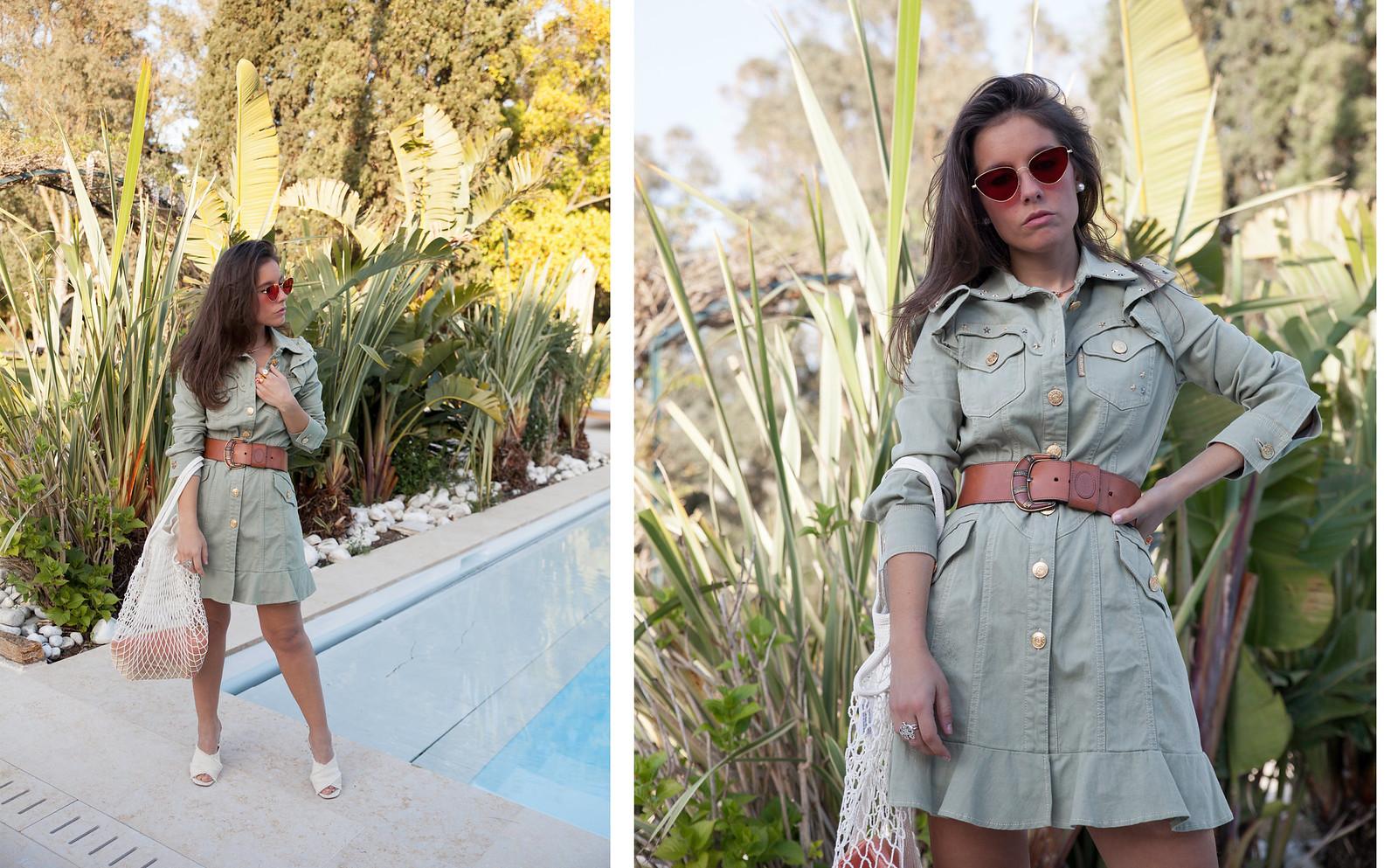 el vestido de moda que vas a querer Highly Preppy Theguestgirl Brand Ambassador fashion influencer barcelona