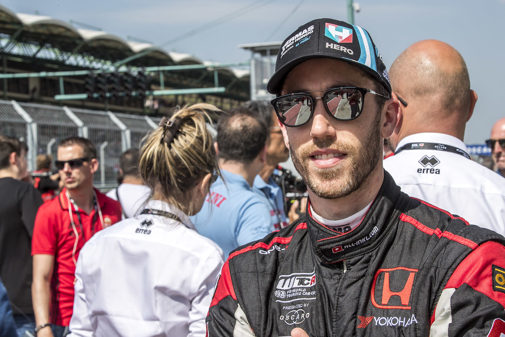 GUERRIERI Esteban (ARG), ALL-INKL.COM Munnich Motorsport, Honda Civic  TCR, portrait during the 2018 FIA WTCR World Touring Car cup, Race of Hungary at hungaroring, Budapest from april 27 to 29 - Photo Gregory Lenormand / DPPI
