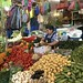 Lady With Veggies For Sale, Mercado de Cholula, Cholula, Mexico por dannymfoster