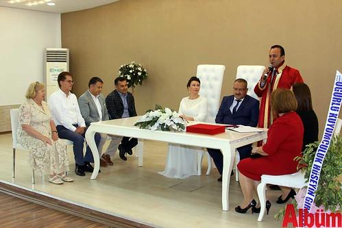 Alana Malanıuk, Ferit Kesen nikah töreni