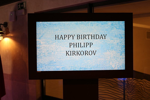 Philipp Kirkorov's birthday party