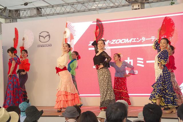 広島フラワーフェスティバル2018 フラメンコダンス