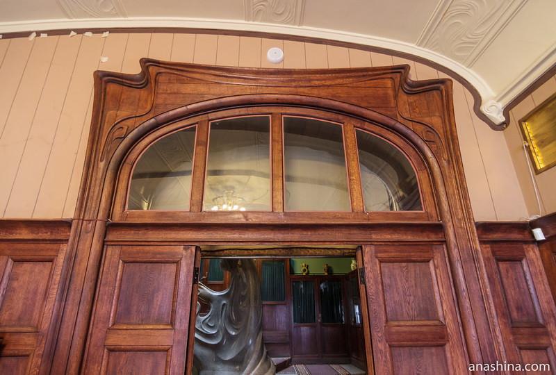 Дверной проем, особняк Рябушинского, Москва