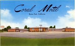 Coral Motel, Buena Park, California