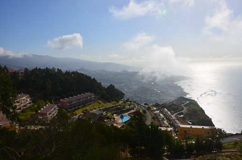 Blick auf Funchal vom Cabo Girao