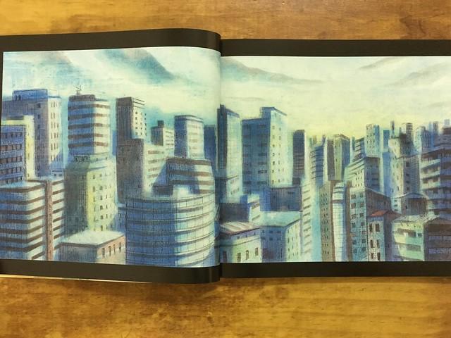 日光照亮了城市@陳致元《想念》,親子天下出版