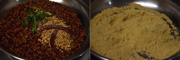 Kollu Podi/Horse Gram Powder cooking steps by GoSpicy.net