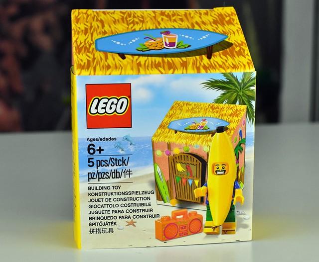 這麼快就輪到你?!LEGO 5005250【香蕉人】Seasonal Banana Guy 帶著他一起去海邊度假吧!