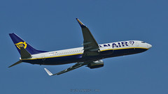 Boeing 737-8AS / Ryanair / EI-GDR - Photo of Bailleul-sur-Thérain