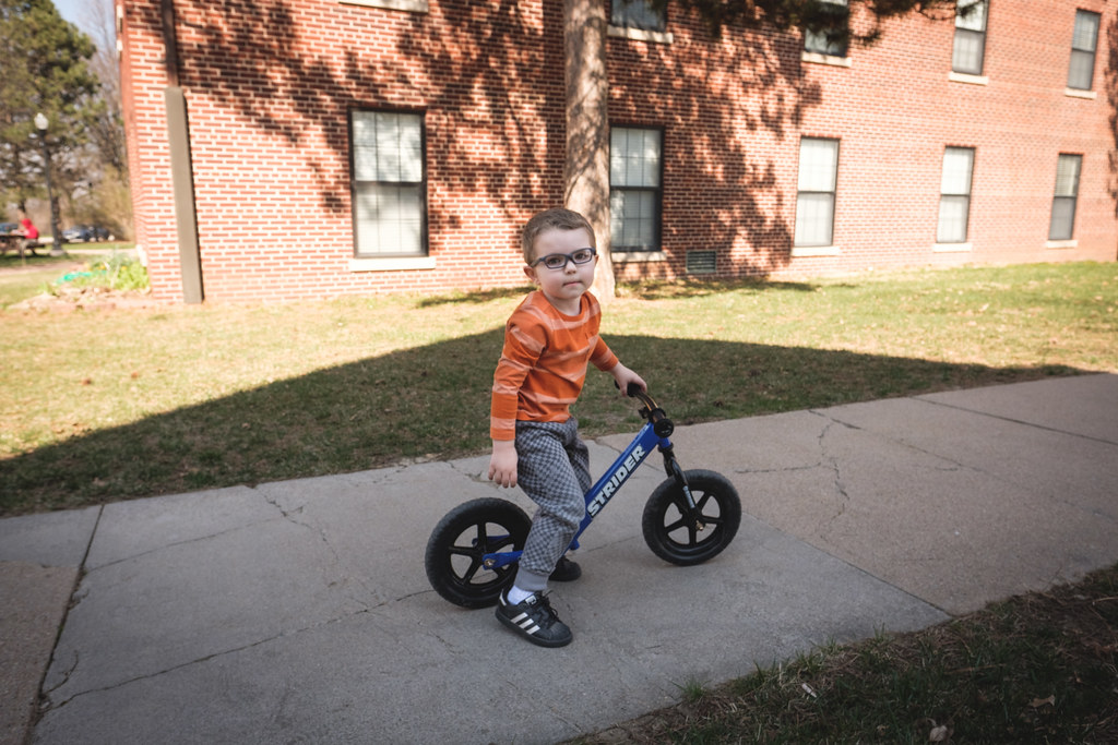 ezra on his bike