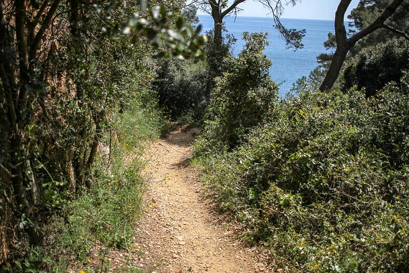 Cami de Ronda entre Llafranc y Tamariu