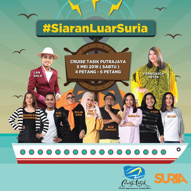 Siaran Luar Suria bersama Cruise Putrajaya (2)