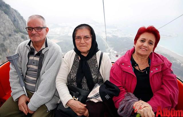 Yaşlıların Tünektepe'de vals ve manzara keyfi- Antalya Büyükşehir Belediyesi