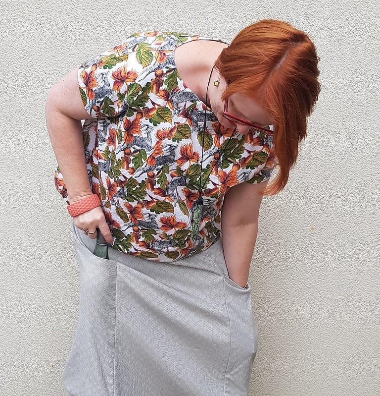 Vogue 8499 skirt