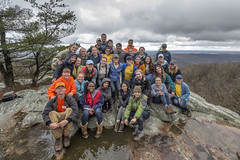 ASB Volunteers, CT Staff, Black Mountain, Cumberland Trail SP, Cumberland County, Tennessee