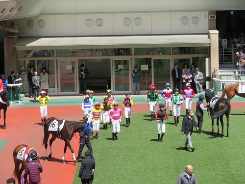 福島競馬場のジョッキー騎乗