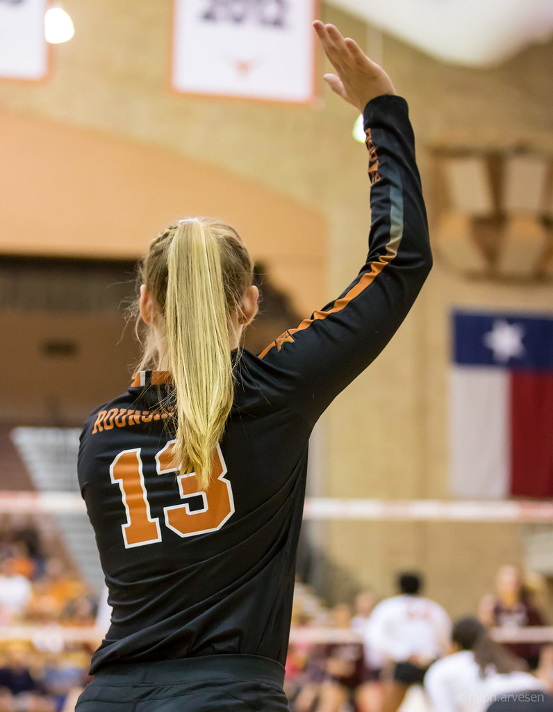 University of Texas Longhorns Volleyball