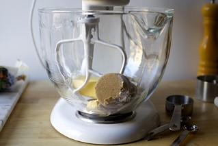 stand mixer dough
