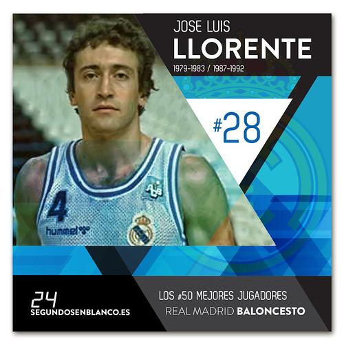 #28 JOSE LUIS LLORENTE