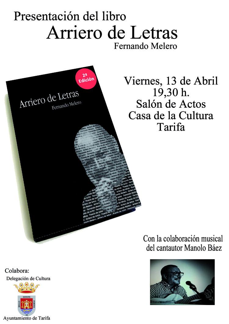 ARRIERO DE LETRAS, presentación libro1