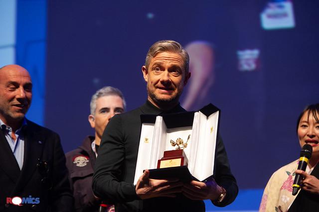 Martin Freeman Romics d'Oro della XXIII edizione