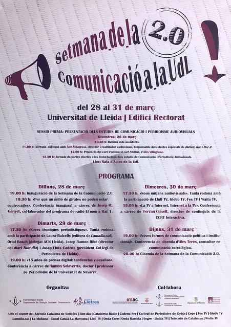 Cartells Setmana Comunicació