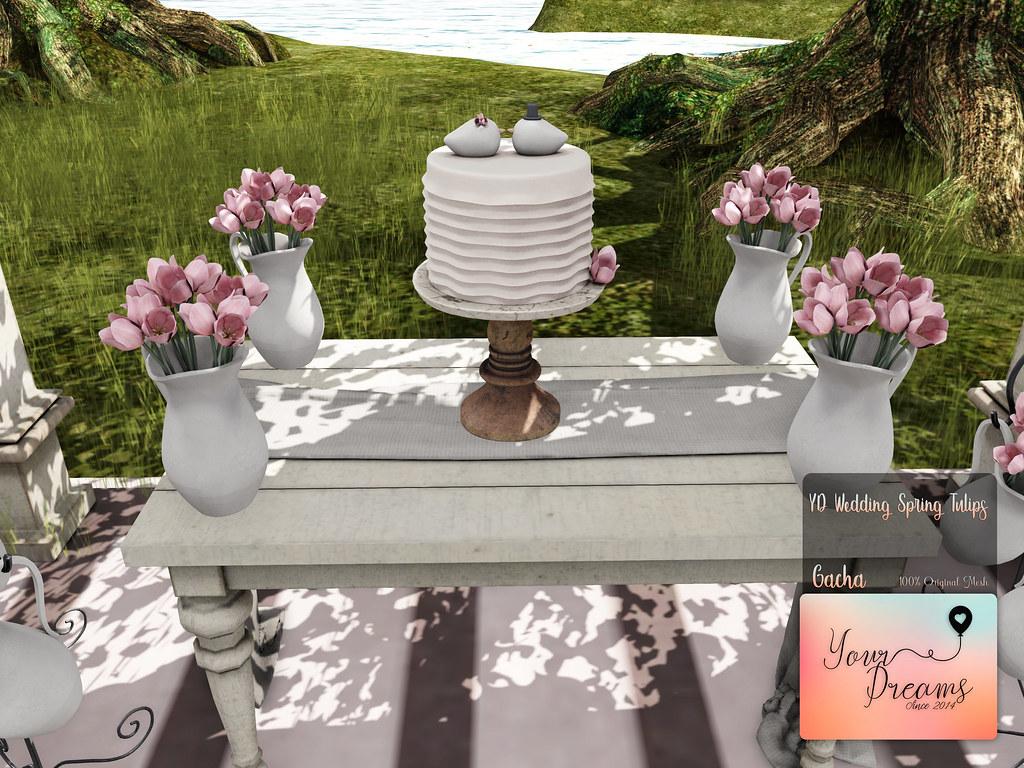 {YD} Wedding Spring Tulips - 03 - TeleportHub.com Live!