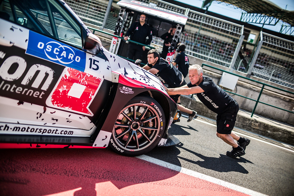 15 THOMPSON James (GBR), ALL-INKL.COM Munnich Motorsport, Honda Civic TCR, ambiance during the 2018 FIA WTCR World Touring Car cup, Race of Hungary at hungaroring, Budapest from april 27 to 29 - Photo Thomas Fenetre / DPPI