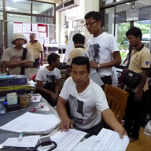 A busy day at FFSS's office. The society is manned by a staff of 100 and many volunteers who are inspired by their leader's compassion and drive for social change.