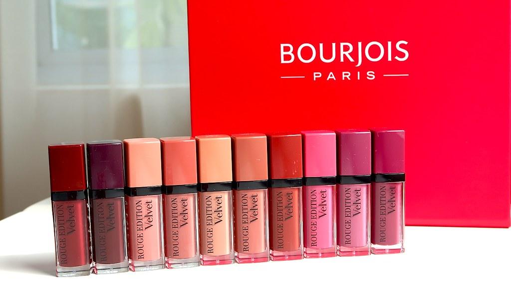 2018 Bourjois Rouge Edition Velvet
