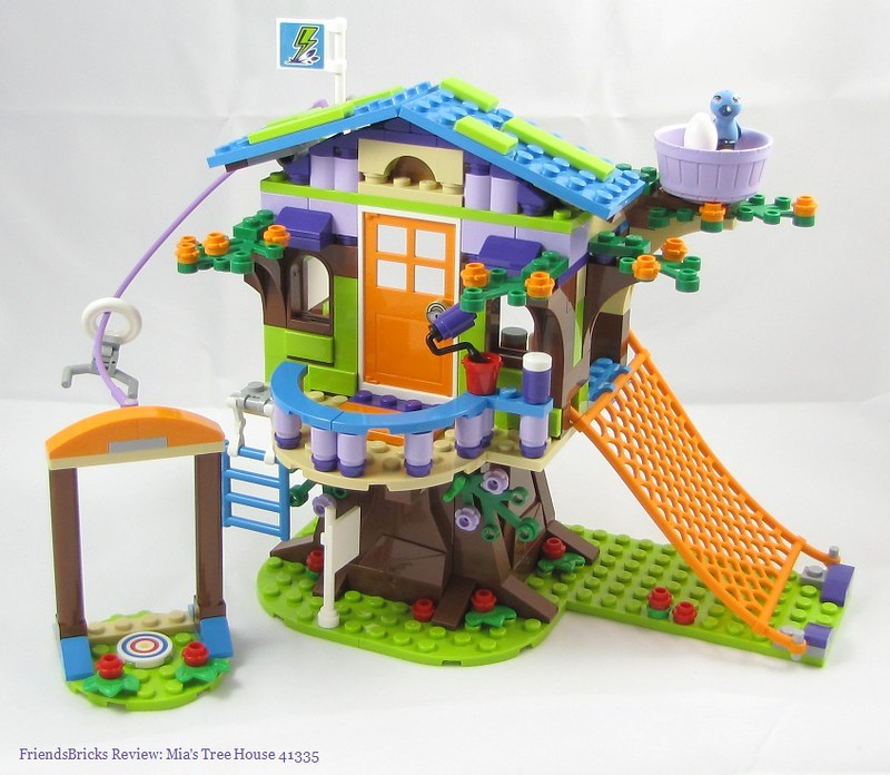 lake Times: Review: 41335 Mia's Tree House on