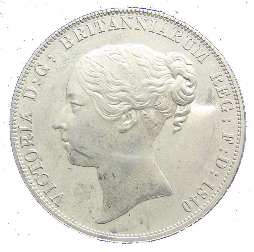 Victoria Young Head by William Wyon, edited as a retro-pattern by the British medallist Donald R Golder for the Spink Patina Collection.