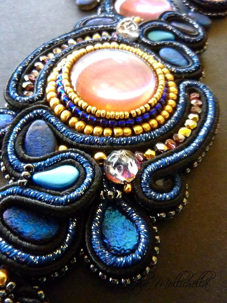 backlitcabs, petroleumcabs, paisleyduo, paisleyduos, beadsmith, soutache, etchedteardrops, baroquecabs, kumihimo, martha mollichella martha mollichella handmade jewelry