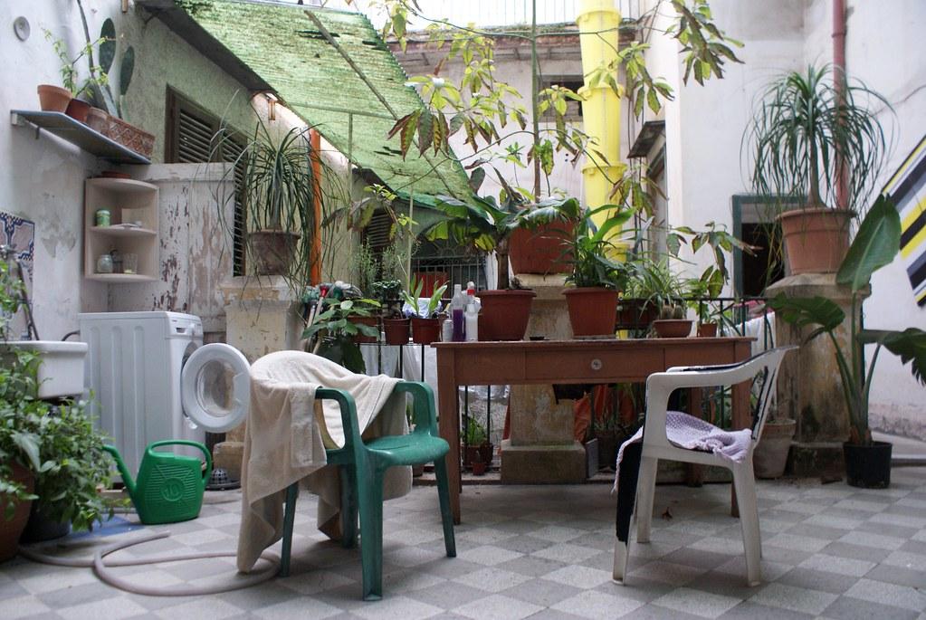 Hébergement à Palerme dans une chambre louée chez l'habitant.