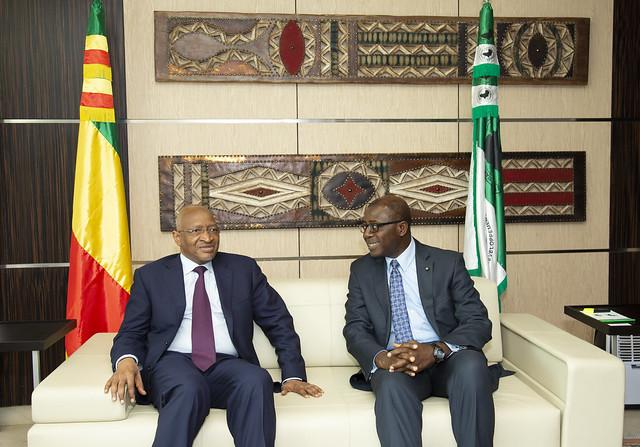 Visite du Premier Ministre du Mali, S.E. Soumeylou Boubèye Maïga