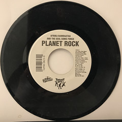 AFRIKA BAMBAATAA AND THE SOUL SONIC FORCE:PLANET ROCK(RECORD SIDE-A)