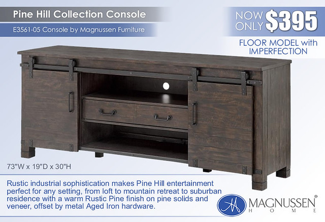 Pine Hilll Console_Blemished