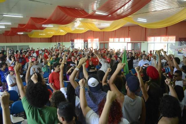 Em Caruaru (PE), mais de 400 pessoas se reuniram para planejar a defesa do principal candidato à presidência da República - Créditos: PH Reinaux/Brasil de Fato