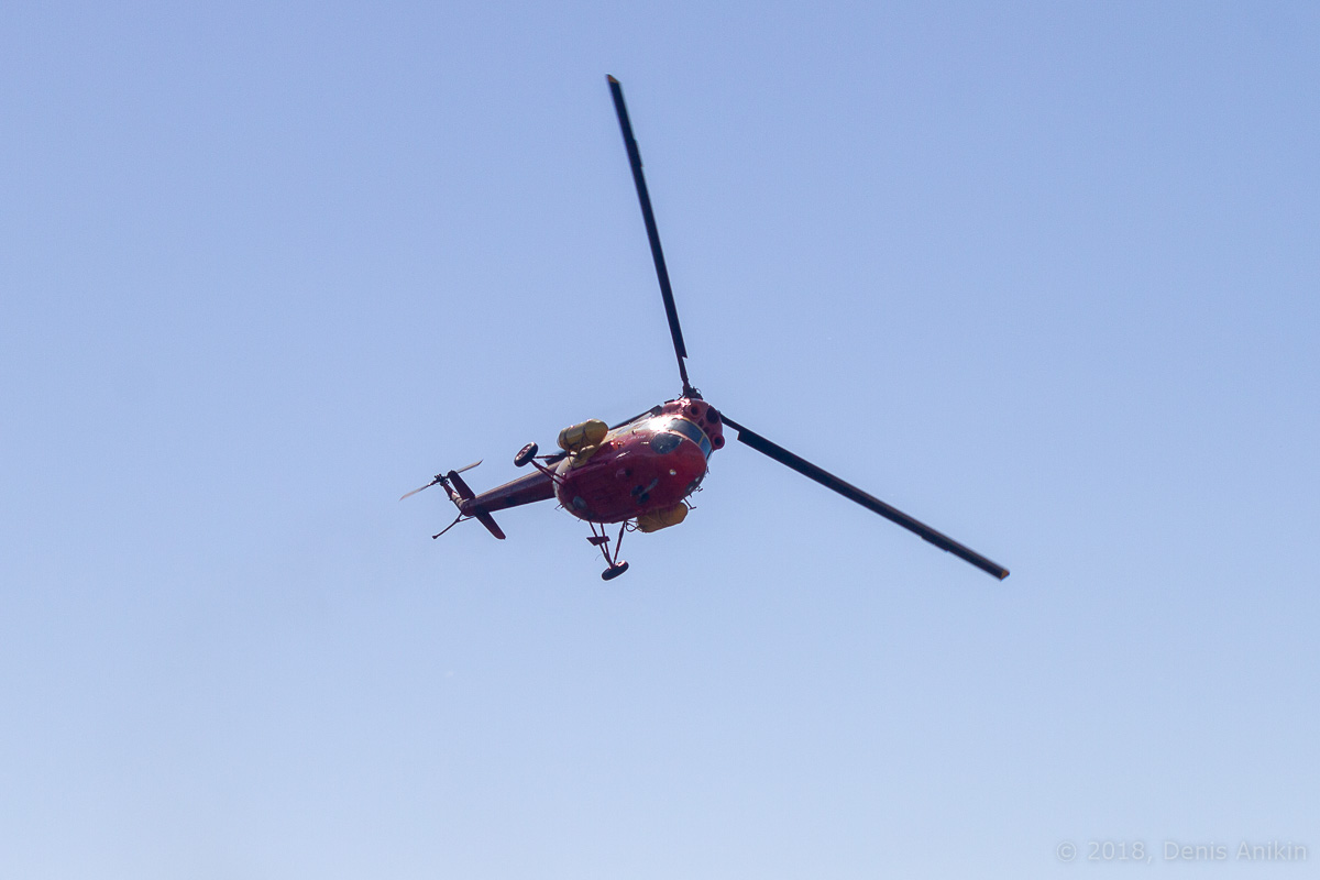 Вертолёт Ми-2 выступление фото 7