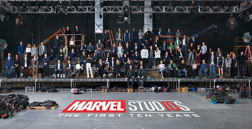 Marvel Class Photo The First Ten Years