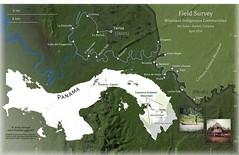Reference Map - Darien, Panama