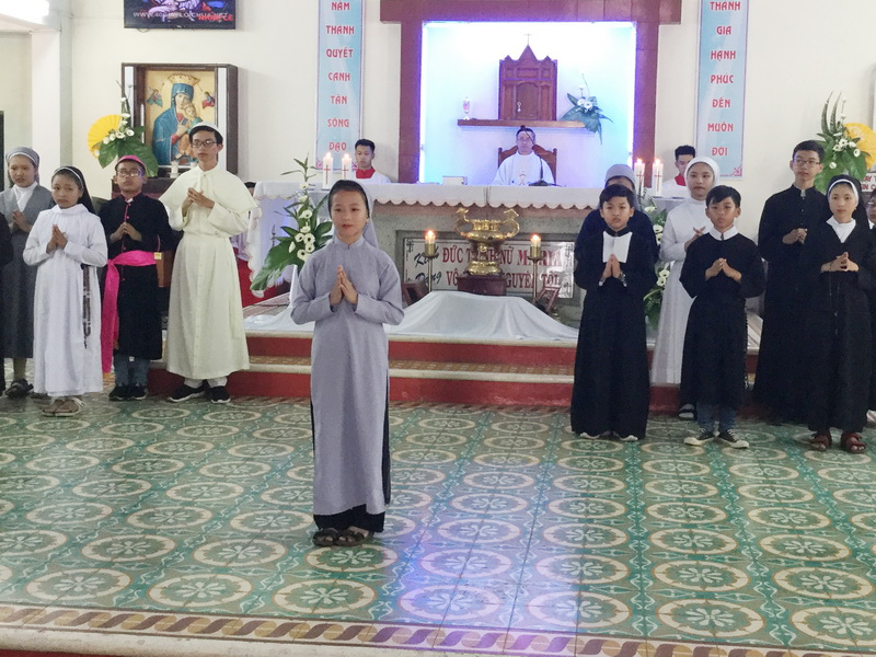 Lễ Chúa Chiên Lành tại Giáo xứ Phú Thạnh