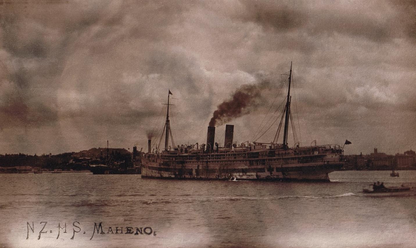 New Zealand Hospital Ship 'Maheno'