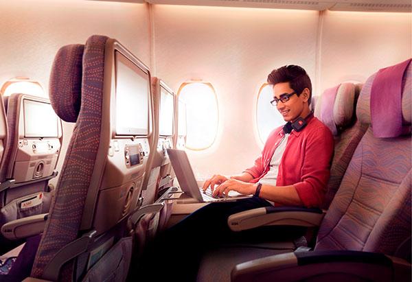 Emirates Economy Wi Fi (Emirates)