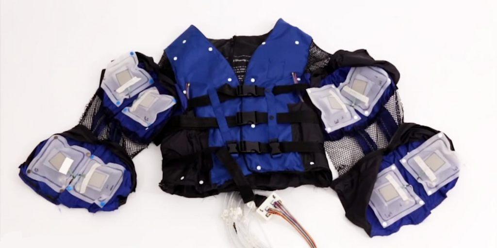 Disney Research a conçu une veste RV qui peut vous donner un câlin