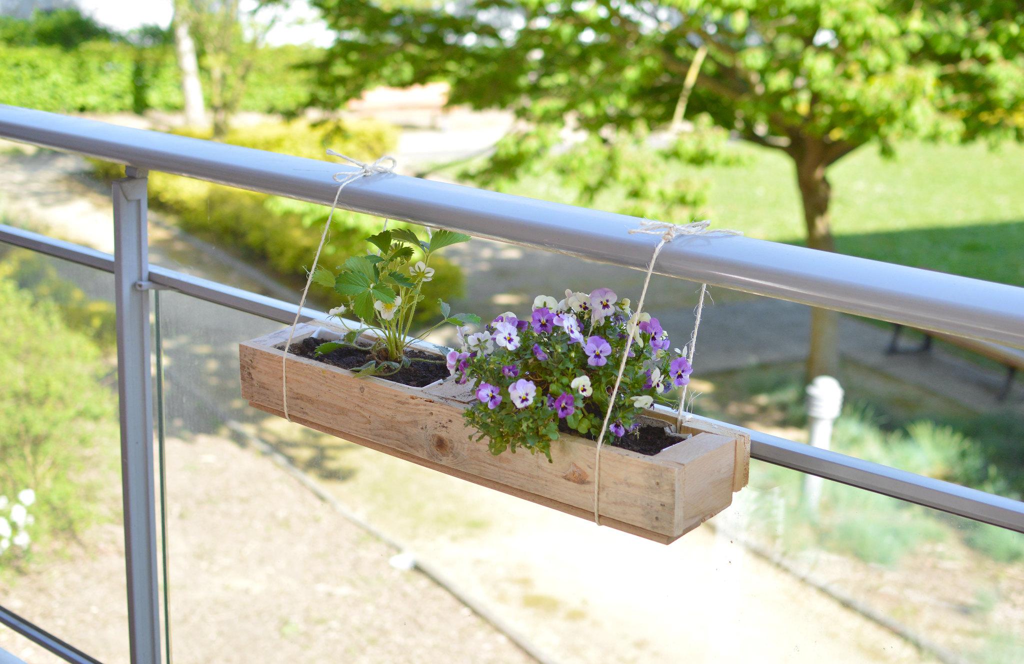 Des Jardinieres Diy En Palette Les Yeux En Amande