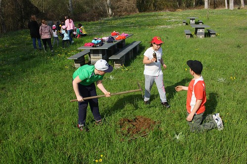 Acciones forestales con el C.R.A Valle del Boeza