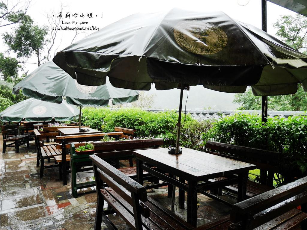貓空戶外景觀餐廳推薦邀月茶坊 (1)