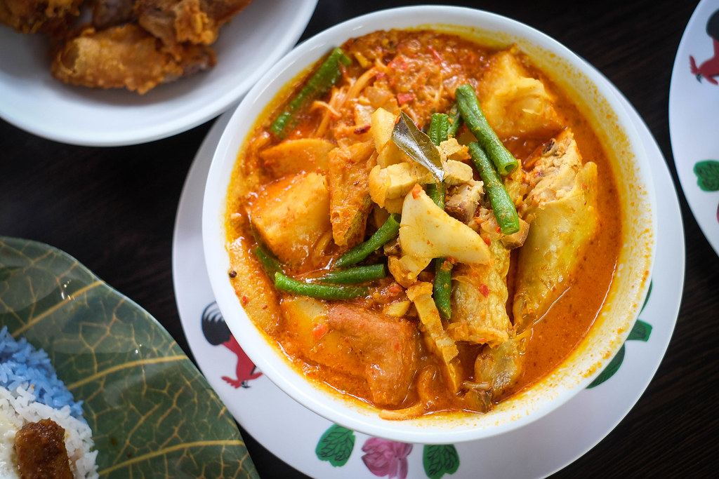 Curry Mee Top View