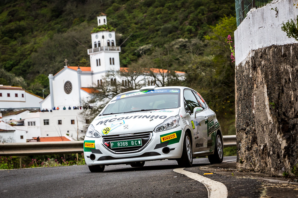 30 GAGO Diogo, RAMALHO Miguel, Peugeot 208 R2, action during the 2018 European Rally Championship ERC Rally Islas Canarias, El Corte Inglés,  from May 3 to 5, at Las Palmas, Spain - Photo Thomas Fenetre / DPPI